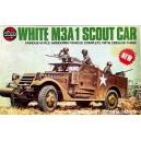 White M3A 1 Scout Car