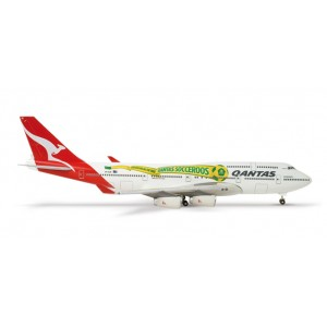 "Qantas Boeing 747-400 ""Socceroos"""