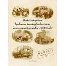 Beskrivning över hjulburna terrängfordon inom försvarsmakten under 1900-talet