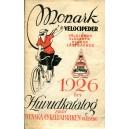 Monark velocipeder - 1926 års huvudkatalog från Svenska Cykelfabriken