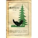 Hälls katalog n:o 30 1929
