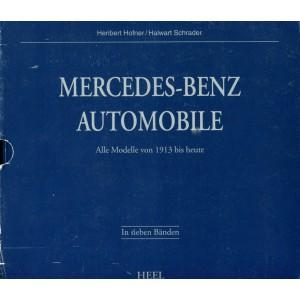 Mercedes- Benz Automobile. Sonderausgabe. Alle Modelle von 1913 bis heute. (7 Bd.)