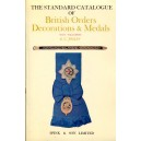 Spinks The Standard Catalogue of British Orders & Medals with Valuations