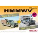HMMWV Gun Truck + Troop Carrier