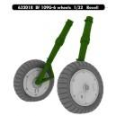 Messerschmitt Bf 109G-6 wheels