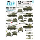 AMX-13 Chaffee & AMX-13 SS-11. French Cold War markings and Algerian war