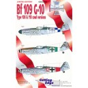 Bf 109 G-10 Type 100 & 110 cowl versions