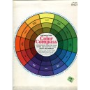 Grumbacher Color compass, an illustrated guide for color mixing, selection, color theory and harmony
