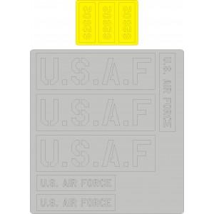 L-19/O-1 Bird Dog USAF marking masks