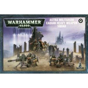 Astra Militarium Cadian Heavy Weapon Squad