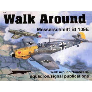 Messerschmitt Bf 109E Walk Around