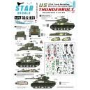 Thunderbolt V / VI / VII - 37th Tank Bn. M4 Sherman, M4A3 (76), M4A3E8 HVSS.