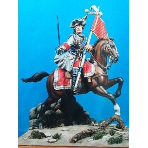 Officer Orleans Cavalry 1724-30