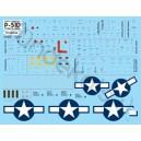 P-51D/K stencil data
