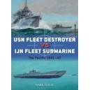 USN Fleet Destroyer vs IJN Fleet Submarine