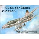 F-100 Super Sabre in Action