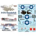 P-7 D Thunderbolt 509th FS/405FG