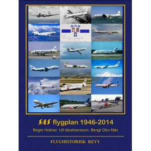 SAS flygplan 1946-2014