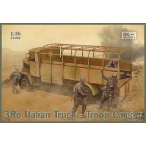 Lancia 3Ro Italian Truck Troop Carrier