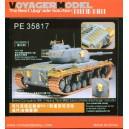 British Conqueror MK.II Heavy Tank smoke discharger include