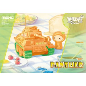 Pinky World War Toons - Panther