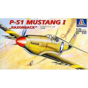 North-American P-51 Mustang I Razorback