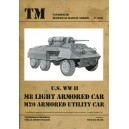U.S. WW II M8 Light Armored Car - M20 Armored Utility Car