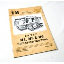 U.S. WW II M4, M5, M6 High Speed Tractors