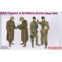DAK Panzer & Artilley Crew Libya 1941