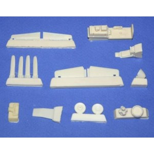 North-American P-51D Mustang detail set