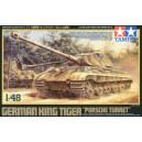 German King Tiger - Porsche Turret