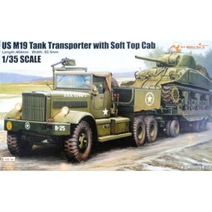 M19 U.S. Army Tank Transporter Soft Top Cab