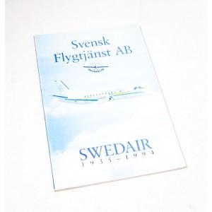 Svensk Flygtjänst AB - Swedair 1935-1994