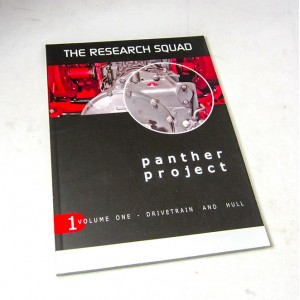 Panther Project. Volume 1
