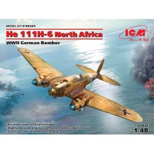 Heinkel He-111H-6 North Africa, WWII German Bomber