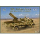 Lancia 3Ro Italian Truck with 100 mm 100/17 Howitzer