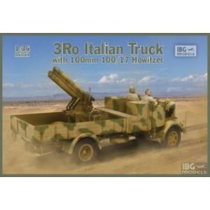 Lancia 3Ro Italian Truck with 100 mm 100/17 Howitzer