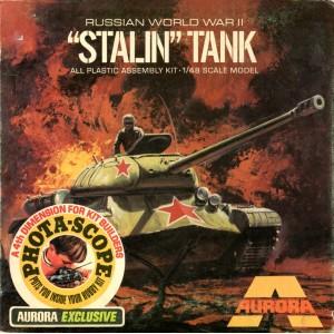 Phota-Scope Russian World War II Stalin Tank