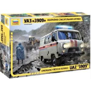 Emergency rescue service UAZ 3909