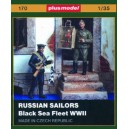 Russian Sailors Black Sea Fleet WWII