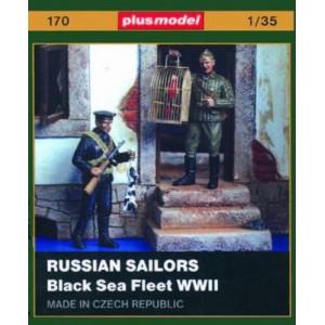 Russian Sailors Black Sea Fleet WWII
