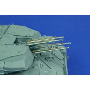 4 METAL BARRELS for RUSSIAN ZSU-23-4 SHILKA