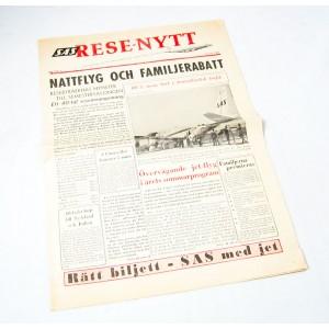 SAS Rese-nytt Februari 1960