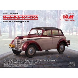 Moskvitch-401-420A, Soviet Passenger Car