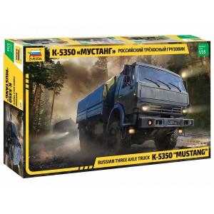 "Russian three axle truck K-5350 ""MUSTANG"""