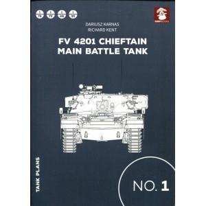 Tank Plans 1: Fv 4201 Chieftain Main Battle Tank