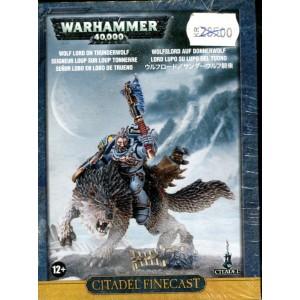 Citadel Finecast: Wolf Lord on Thunderwolf
