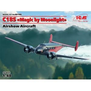 "Beech C18S ""Magic by Moonlight"", Airshow Aircraft"
