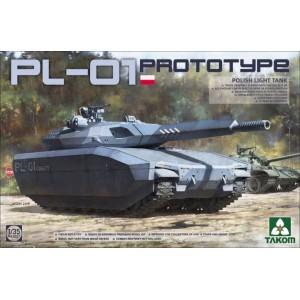 PL-01 Prototype Polish Light Tank