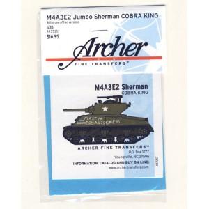 M4A3E2 Jumbo Sherman Cobra King